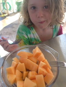 First Cantaloupe 2015